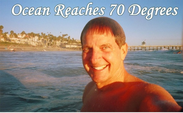 Ocean Reaches Seventy Degrees 2013